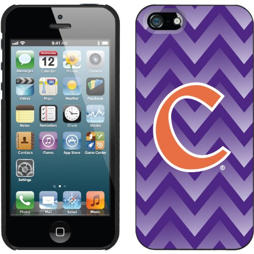 Great Sale Clemson - Gradient Chevron design on a Black iPhone 5s / 5 Thinshield Snap-On Case by Coveroo
