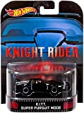 "K.I.T.T. Super Pursuit Mode ""Knight Rider"" Hot Wheels 2014 Retro Series Die Cast Vehicle"