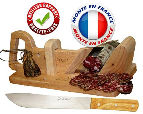 Le Berger Traditional slicer + Bread knife