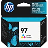 HP 97 Inkjet Cartridge, 450 Pages or 160 Photos, Tri-Color