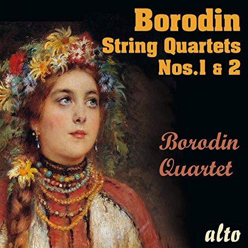 CD : Borodin Quartet - Alexander Borodin String Quartets Nos.1 & No.2 (CD)