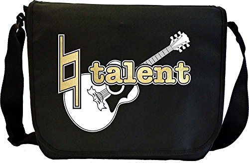 Acoustic Guitar Natural Talent - Sheet Music Document Bag Borsa Spartiti MusicaliTee