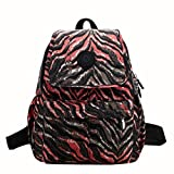 AutumnFall Women's Nylon Bags Durable Daypack Washable Light Weight Travel Backpack (Brown)