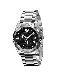 Emporio Armani Quartz Black Dial Men's Watch - AR5897