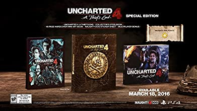 Uncharted 4: A Thief's End - Special Edition - PlayStation 4