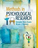 img - for Methods in Psychological Research 2nd (second) Edition by Evans, Annabel Ness, Rooney, Bryan J. (2010) book / textbook / text book