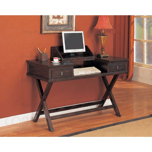 Buy Low Price Comfortable Mahogany Finish Computer Desk (B003XR87E8)