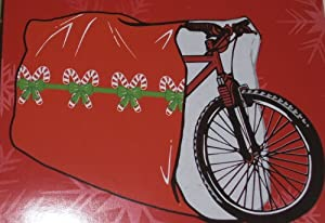 Amazon Com Giant Bike Gift Wrap Bag Christmas Bicycle