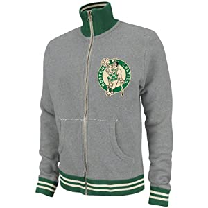 NBA Mitchell & Ness 6026 Vintage French Terry Track Jacket Boston Celtics by Mitchell & Ness