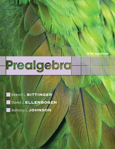 Prealgebra (6th Edition)