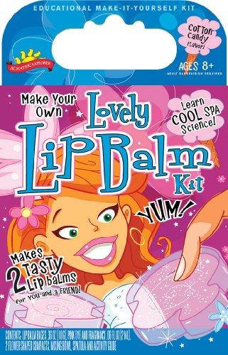 POOF-Slinky 0SA263 Scientific Explorer Make Your Own Lovely Lip Balm Kit, 2-Activities