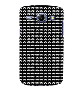 TOUCHNER (TN) Moonch Pattern Back Case Cover for Samsung Galaxy Core i8262::Samsung Galaxy Core i8260
