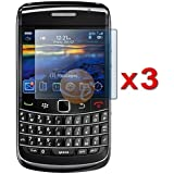 BONAMART ® Three LCD Screen Guards / Protectors for RIM BlackBerry Bold 9700