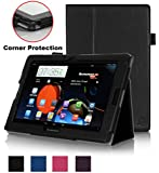 Exact Lenovo Ideatab A10-70 Case [PRO Series] - Professional Folio Case for Lenovo Ideatab A10-70 10.1-inch Tablet (A7600-H / A7600-F) Black