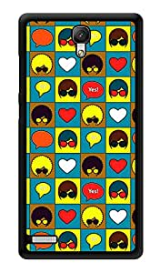 """Humor Gang Retro Heads Printed Designer Mobile Back Cover For """"Xiaomi Redmi Note - Xiaomi Redmi Note 4G"""" (3D, Glossy, Premium Quality Snap On Case)"""