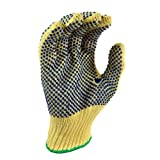 G & F 1670XL Cut Resistant 100-Percent Kevlar Gloves, PVC Dots on Both Sides, X-Large, 1-Pair ~ G & F