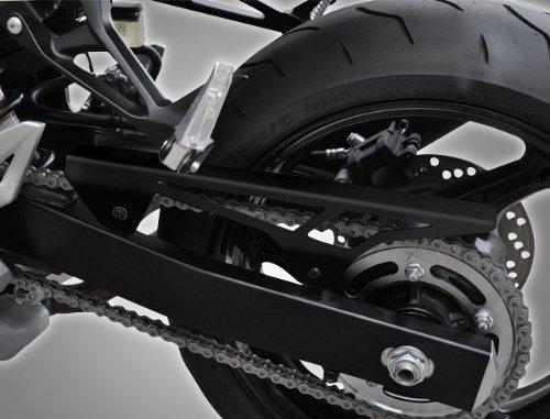Carter de chaine Yamaha FZ8/ Fazer 8 10-16 Inox noir