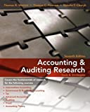 img - for Accounting & Auditing Research: Tools & Strategies by Weirich, Thomas R., Pearson, Thomas C., Churyk, Natalie Tatiana (November 24, 2009) Paperback book / textbook / text book