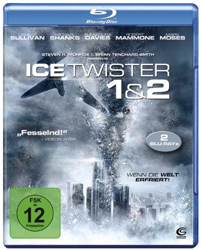 Ice Twister 1&2 - 2 eiskalte Katastrophenthriller in einer Box (2 Blu-rays)