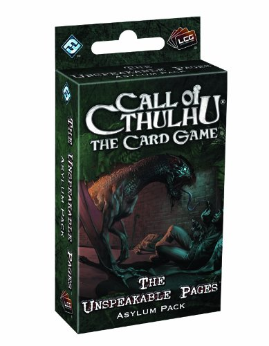 Call of Cthulhu LCG: The Unspeakable Pages Asylum Pack