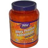 Now Foods Whey Hydrolosate Powder, Chocolate, 2 Pound