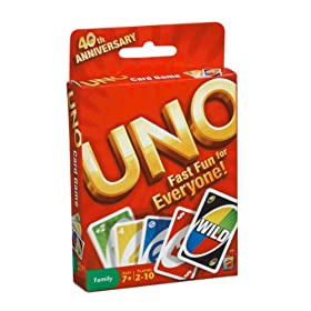 Buy Uno Card Game by Mattel