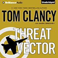 Threat Vector (       UNABRIDGED) by Tom Clancy, Mark Greaney Narrated by Lou Diamond Phillips