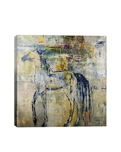 Julian Spencer British Pony Gallery-Wrapped Canvas Print