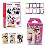 10 Sheets Disney MICKEY & Friends + 10 Sheets Barbie Set Fujifilm Instax Photographic Instant Photo Mini Films For Fuji Instant Camera