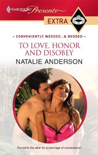 Image for To Love, Honor and Disobey (Presents Extra)