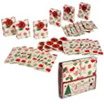 Set 24 Advent Calendar Gift Bags