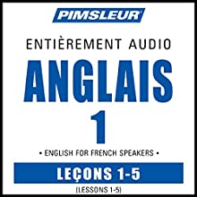 ESL French Phase 1, Unit 01-05: Learn to Speak and Understand English as a Second Language with Pimsleur Language Programs | Livre audio Auteur(s) :  Pimsleur Narrateur(s) :  Pimsleur