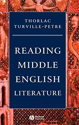 Reading Middle English Literature: An Introduction (Blackwell Introductions to Literature)