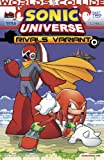 img - for Sonic Universe #51 Mega Man Worlds Collide Part 2 of 12 Proto Man and Knuckles Rivals Variant Cover book / textbook / text book