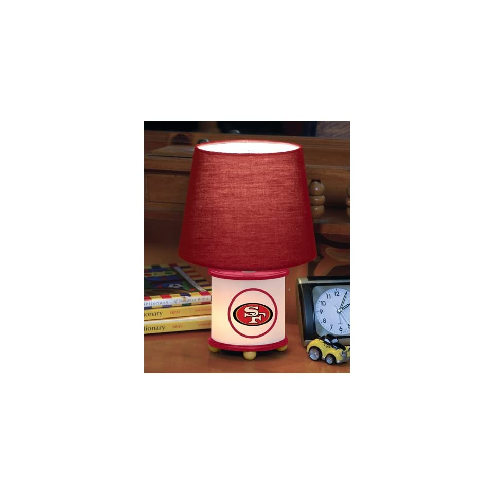 13 NFL San Francisco 49ers Football Multi Function Table Lamp