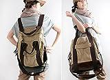 (ナチュラル・スタンス) Natural Stance 人気 軽量 レディース 3way リュック バッグ ( リュック ショルダー 手さげ ) 通勤 通学 おしゃれ かわいい 鞄 (ベージュ)
