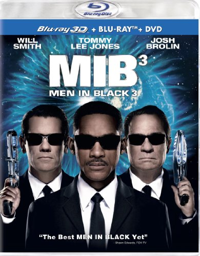 Men in Black 3 (Three Disc Combo: Blu-ray 3D / Blu-ray / DVD + UltraViolet Digital Copy) (Three D Movies compare prices)