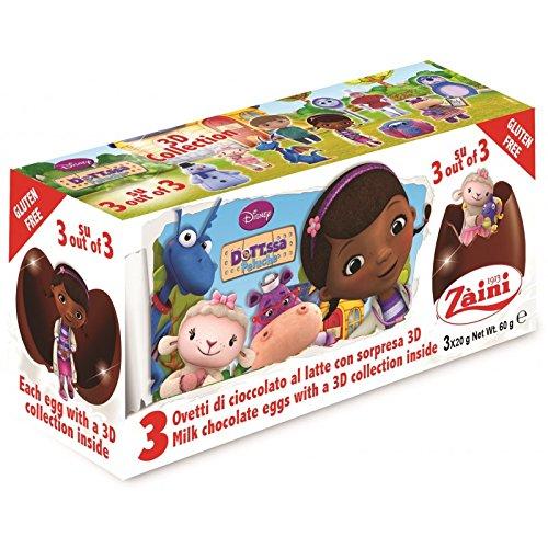 Disney DOC Zaini Milk Chocolate with Surprise Collection 3 Eggs