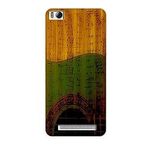 Vibhar printed case back cover for Xiaomi Mi 4i RustMusic