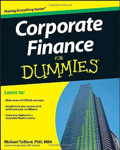 Corporate Finance For Dummies image