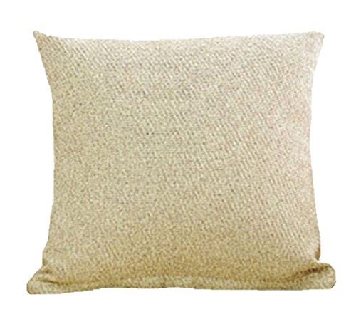 YanFeng Startseite Schlafzimmer-Kissen-Kissen-Abdeckung reine Farbe Khaki