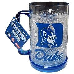 Buy Duke Blue Devils Single Crystal Freezer Mug from Duckhouse by Duck House