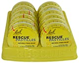 Bach Flower Essences Rescue Remedy Pastilles, (Case of 12)
