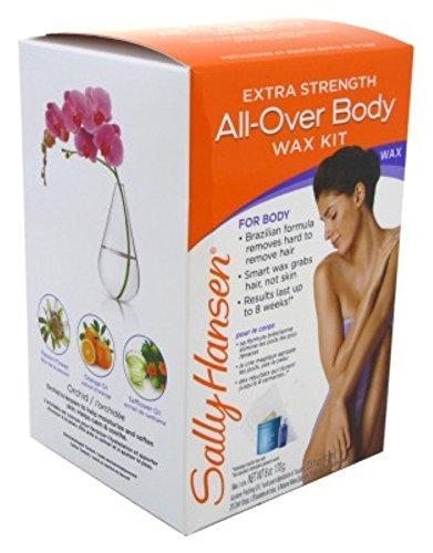 Sally Hansen All-Over Body Wax Kit Extra Strength (2 Pack)