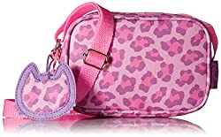 Bixbee Sassy Spots Leopard Purse, Pink