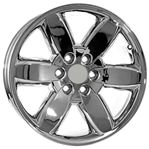 Amazon.com: 20 Inch Chrome GMC Sierra 1500 Trucks Denali Hybrid Wheels