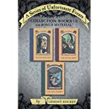 A Series of Unfortunate Events Collection: Books 1-3 with Bonus Material: The Bad Beginning, The Reptile Room,...