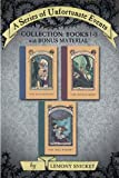 Image of A Series of Unfortunate Events Collection: Books 1-3 with Bonus Material: The Bad Beginning, The Reptile Room, The Wide Window