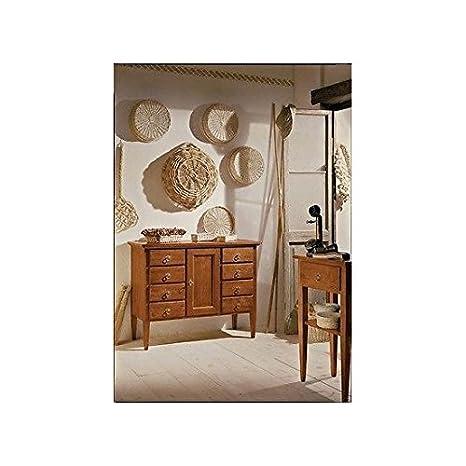 Mueble aparador 8cajones madera maciza–como fotos