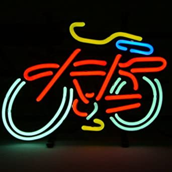 HOZER Professional BIKE PUB Design Decorate Neon Light #2: 51WnbGd2APL SX342